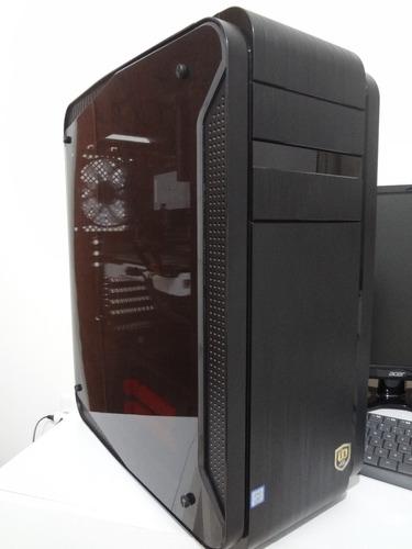 pc gamer i7 8700k gtx 1080 ti 16gb ram monitor 24   acer