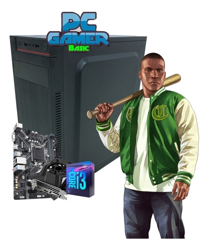 pc gamer inpower intel i3-9100f 1tb 8gb geforce gtx 1650 4gb