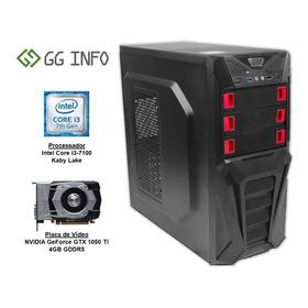 Pc Gamer Intel Core I3 7100 Gtx 1050ti Ddr4 8gb Hd 1tb