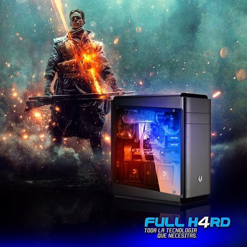 pc gamer intel core i3 8100 + 8gb + 1tb + h310 + 1050ti 4gb