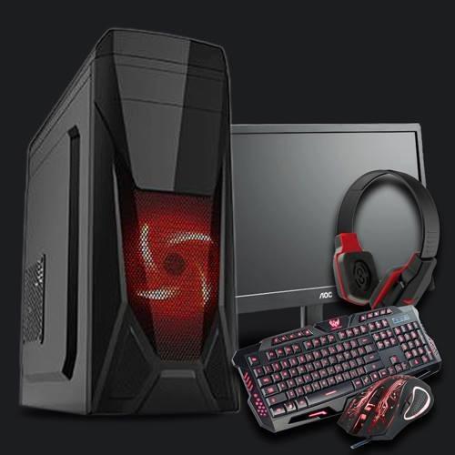 pc gamer intel/ core i5/ 8gb/ 1tb/ geforce 2gb / wi-fi/ led