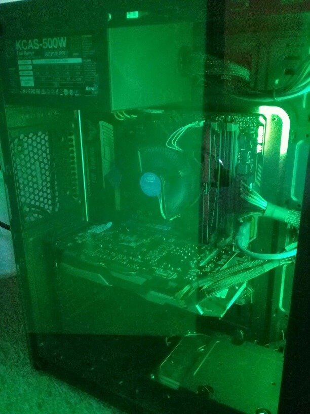 Pc Gamer - Intel Core I7 8700 Gtx 1060 6gb 8gb 2400mhz Ddr4