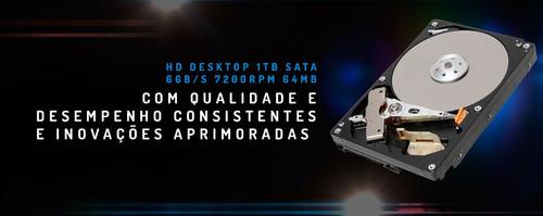 pc gamer intel i5 7400 (gtx 1060 6gb) ssd 240gb / 1tb / 8gb