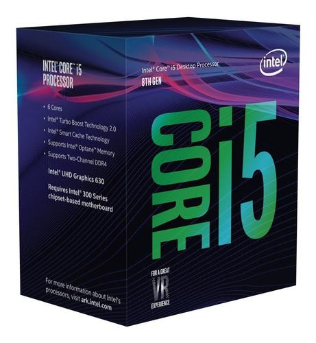 pc gamer intel i5 9400f + 8gb fury + 1tb + 650w + gtx 1660