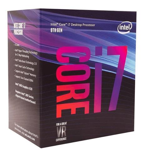 pc gamer intel i7 8700+ 16gb+ ssd240gb+ 500gb + gtx1060_6gb
