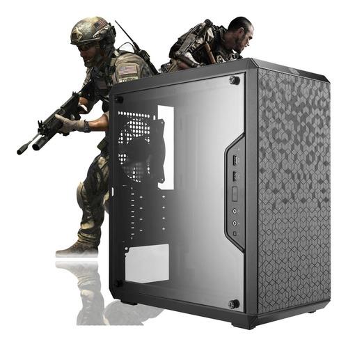 pc gamer intel pentium g5400 + 16gb fury + 480gb + gt 1030