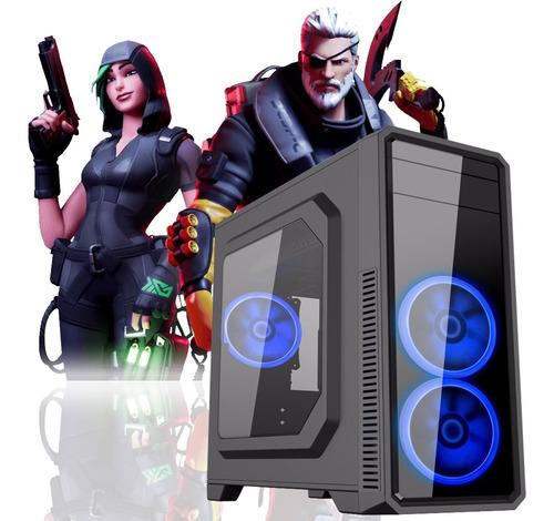 pc gamer intel pentium gold g5400 + 8gb fury + 1tb + rx 570