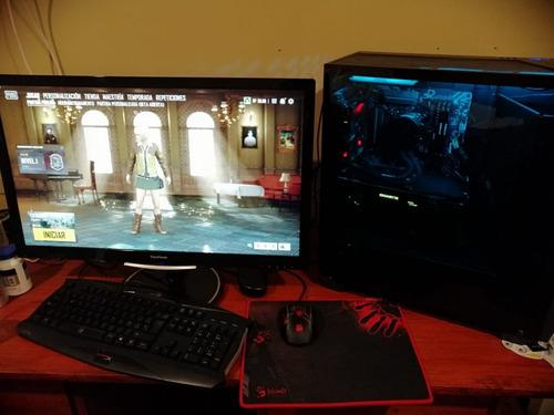 pc gamer + monitor + juegos