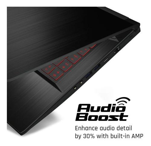 pc gamer msi gf63 gaming laptop, intel core i5-930