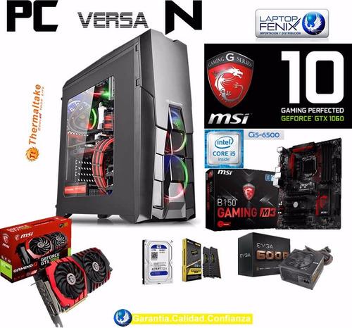 pc gamer n ci5-6500| 16gb| 1tb | 6gb gtx1060| dvd | 600w