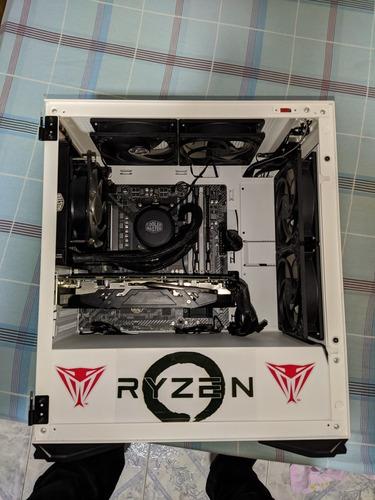 pc gamer nueva ryzen 3600 + rx 590 + 16gb de ram