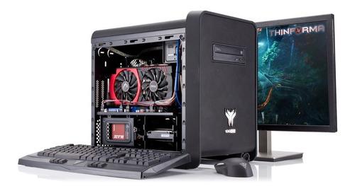 pc gamer personalizado i5 8gb 1tb gtx 1060 6gb * consulte