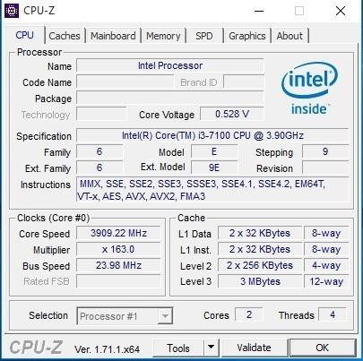 pc gamer - processador i3 7º geração