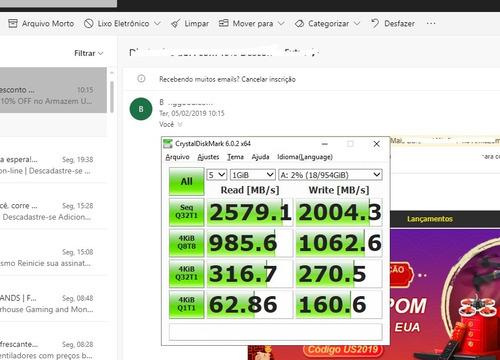 pc gamer rtx 2080 16gb+2x ssd 120+ nvme m.2 1tb