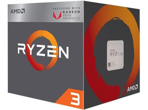 pc gamer - ryzen 3 2200g + rx 570 4gb + 16 ram + ssd mx 500