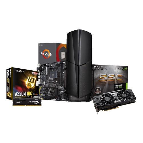 pc gamer ryzen 5 2600 gtx 1060 6 gb hdd 2 tb ram 8gb