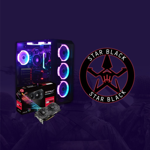 pc gamer star black / crazygammer