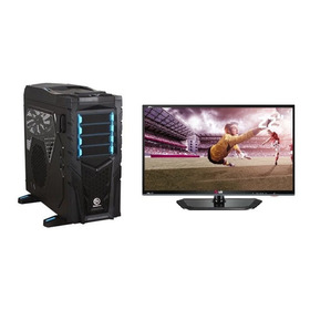 Pc Gamer/ Workstation Amd Octacore, 32gb Monitor Full Hd 22