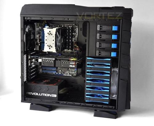 pc gamer/ workstation amd octacore, 32gb monitor full hd 22