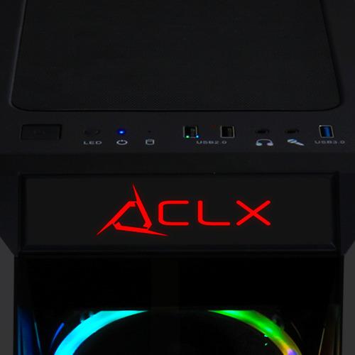 pc gaming clx set amd ryzen 5 3400g 3.7 ghz radeon rx 580