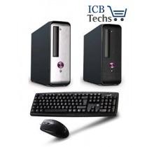 pc genérica amd e2 3800 1,3ghz 4gb 500gb teclado y mouse