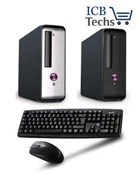 pc genérica intel ci5 7400 3.5ghz 4gb 500gb teclado y mouse