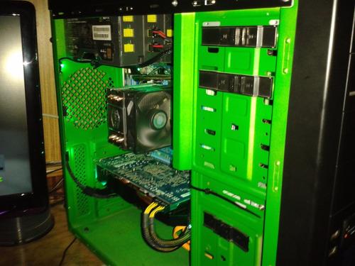 pc gigabyte + amd athlon iix4 640 + cooler master tx3