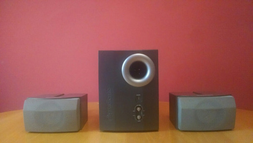 pc home theater oz 2.1 16w rms sistema audio