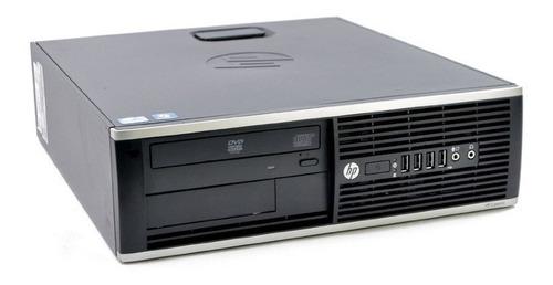 pc hp intel core i5 4gb dvd wi-fi p/ escritório + office