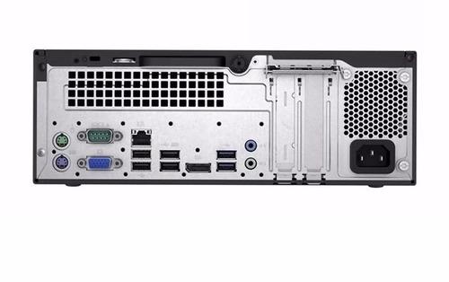 pc hp prodesk 400 g3 core i3-6100 1tb 7200 4gb w5x70lt