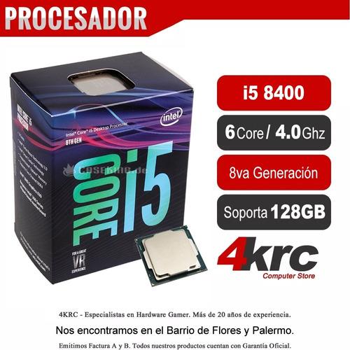 pc intel armada gamer i5 8400 8va gen 1tb hdmi ddr4 8gb 2400