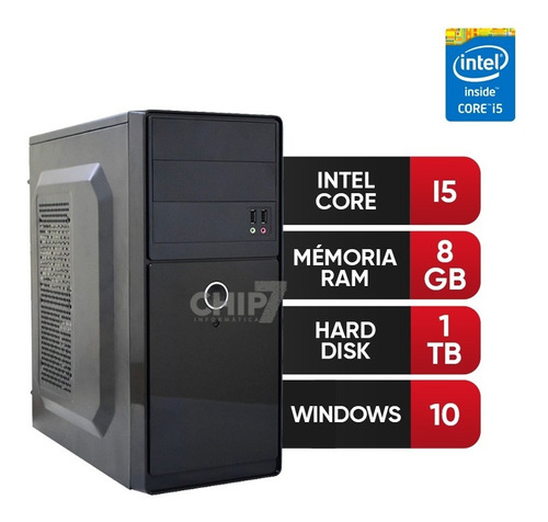 pc intel core i5,8gb ram ddr3,hd 1tb nf+frete gratis**