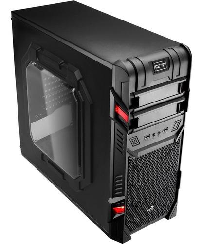 pc intel cpu i3 7100, 8gb ddr4, ssd 240gb, gabinete gamer ..