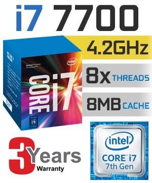pc intel cpu i7 7700 7ª geração, 16gb ddr4, hd 1 tb