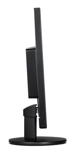 pc  intel i3-8100 8ª ger, 4gb hd500gb, monitor aoc 18,5