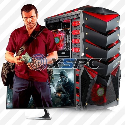 pc intel  i7 7770 32.gb hd 480 solido gabinete gamer 800,wat