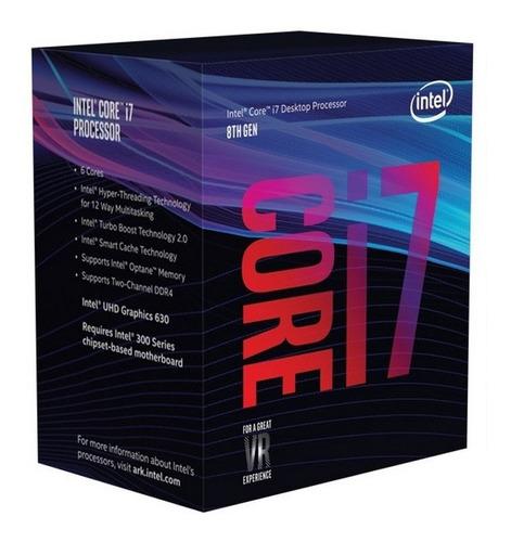 pc intel i7 8700 8va gen usb 3.0 ddr4 1tb hdmi ideal diseño arquitectura