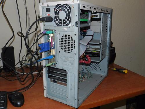pc intel pentium 4 2.8ghz 1gb 40gb win o ubunt cyber oficina