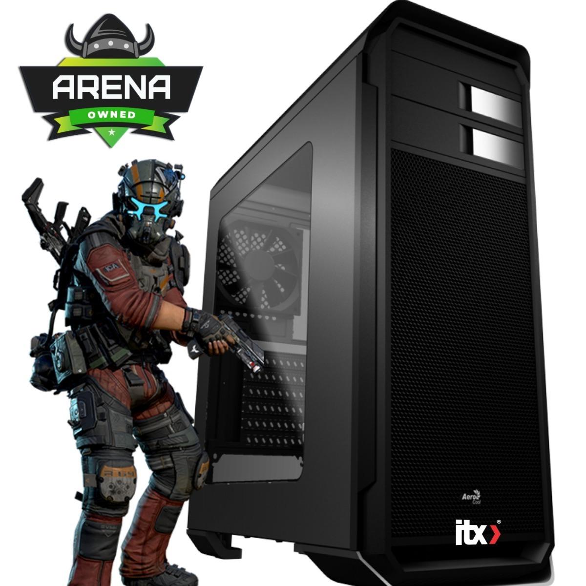 Pc Itx Gamer I7 8700 (gtx 1060 3gb) 8gb/ 1tb / Aero-500