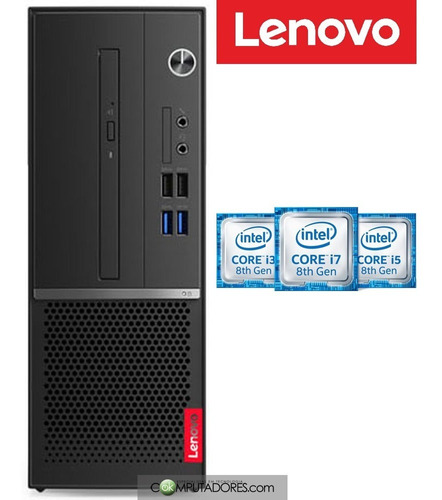 pc lenovo v530s core i3-8100 / 4gb / 500gb / free dos- 36035
