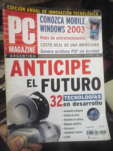 pc magazine en español vol. 14 | n°09 | 09/2003