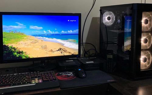 pc + monitor (excelente estado)