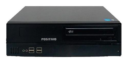 pc positivo intel core i5 8gb + ssd 120gb wi-fi