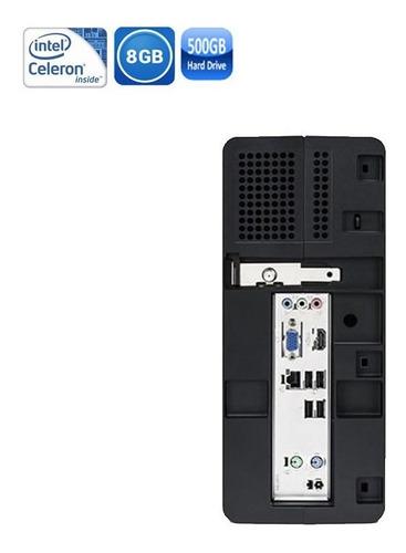 pc positivo stilo ds3415 celeron hd 500gb + kit tecl mouse