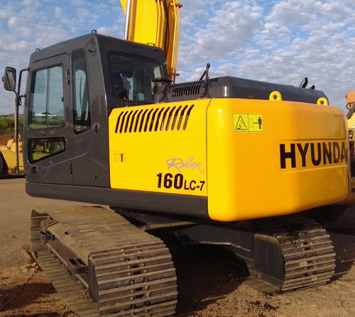pc r 160 hyundai lc7 - 2008 - 4.000 hrs