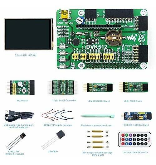 Pc Raspberry Pi Diy Kit De Hardware Electrónico De Código Ab