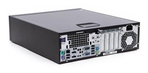 pc recertificado hp prodesk 600 g1 sff i3-4130 4gb 500gb dvd
