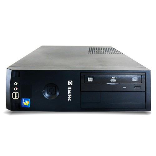 pc recertificado itautec 4272p dc 840 8gb 500gb dvd win7 pro