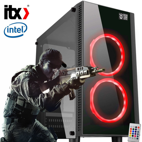 pc só pc gamer moba box g4560 (gt 1030 2gb) 8gb / ssd 240gb