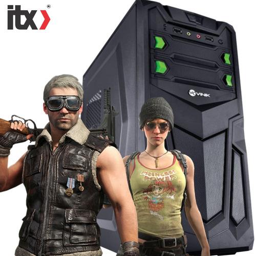 pc só pc gamer pentium g4560 (gt 1030 2gb) 4gb / ssd 240gb